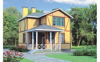 дом в средиземноморском стиле R1411 в