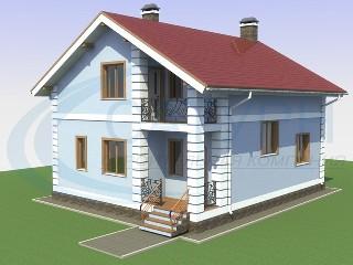 Дома из пеноблоков в Москве, строительство коттеджей из пенобетона