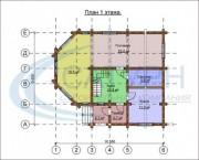 Проект Мичиган - План 1 этажа