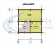 Проект Мичиган - План 2 этажа