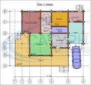 Проект Гармония - План 1 этажа