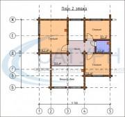 Проект Гармония - План 2 этажа