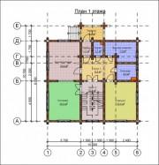 Проект Чеховский - План 1 этажа