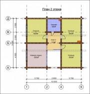 Проект Чеховский - План 2 этажа