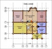Проект Александрия - План 1 этажа