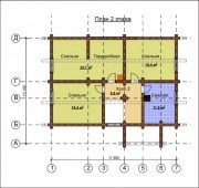 Проект Александрия - План 2 этажа