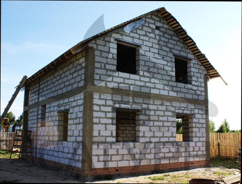 Проекты домов из пеноблоков бесплатно