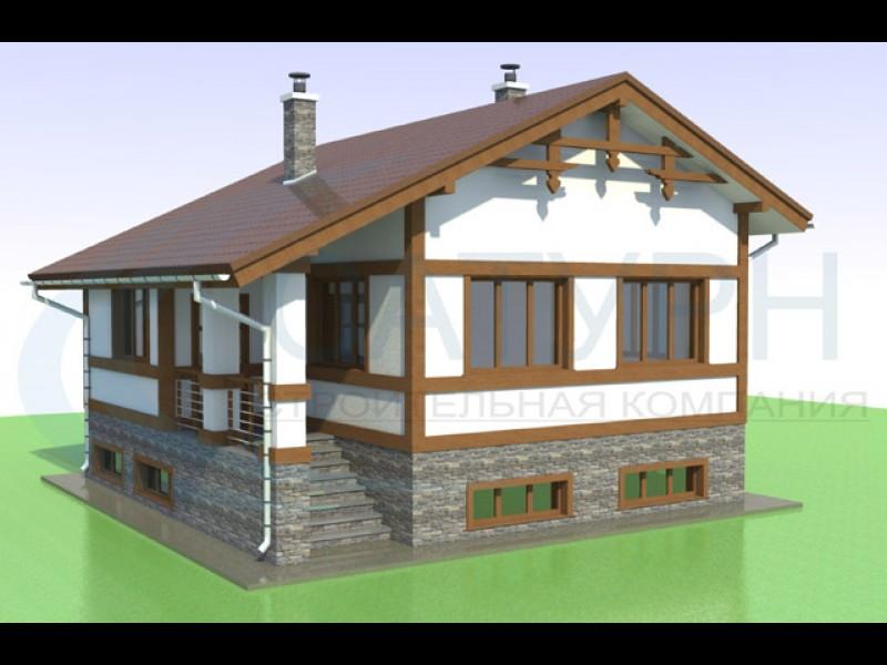 Проекты строим дом из пеноблоков своими руками 164