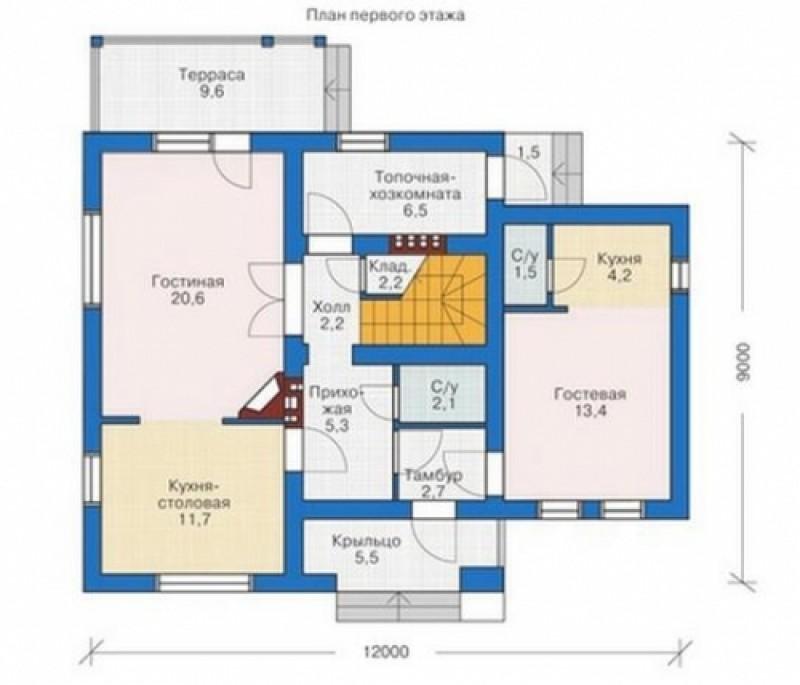 Дом из пеноблоков 203