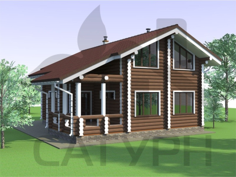 Деревянный дом - огайо.