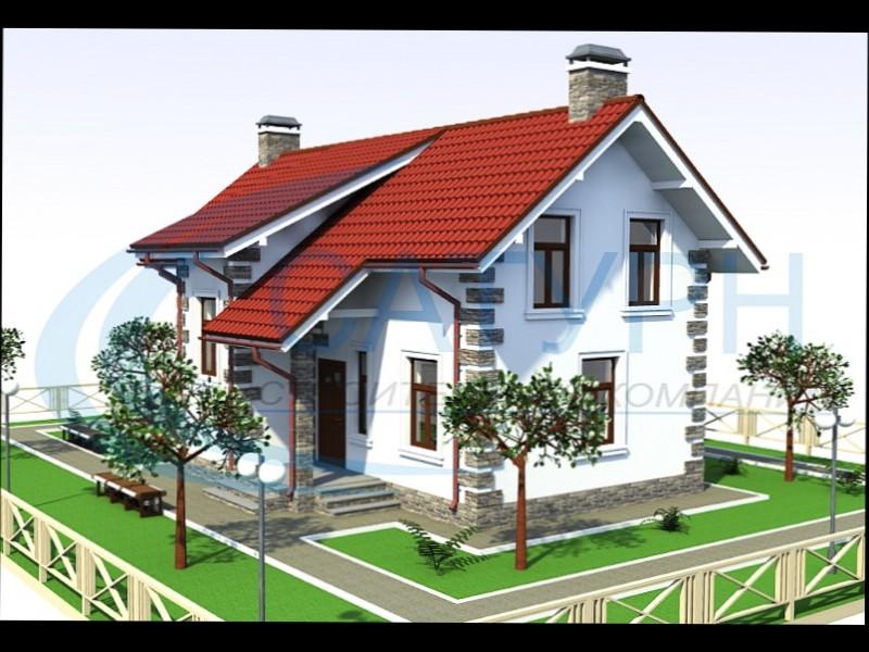 Дом из пеноблоков 18